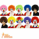 Funky Afro Wig Cap Disco Crazy Clown 70s Fancy Dress Unisex Hen Stag Party