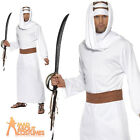 Adult Lawrence of Arabia Costume Shiek Arab Mens Fancy Dress Outfit