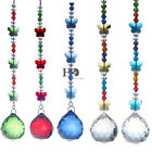 New Crystal Glass Ball Drop Small Butterfly Wedding Chandelier Curtain Pendant