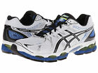 ASICS Mens GEL-Nimbus 16 (2E) Running Sneakers White/Black/Royal T436N.0190