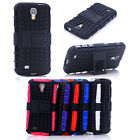 HEAVY DUTY TOUGH SHOCKPROOF STAND CASE COVER FOR Samsung Galaxy S4 i9500 TZJ