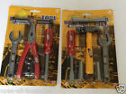 Boys Tool Set - 7 Pieces - Hammer Pliers Screwdrivers - be like Dad