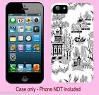 WILLOW PATTERN CLIP ON MOBILE PHONE COVER/SKIN