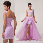 Magical Formal Long/short Evening Ball Gown Party Prom Bridesmaid Dress Sz:6-20
