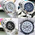 Brand New Orlando Mens Watch Sports Analog Stainless Steel Wrist Uk Stock