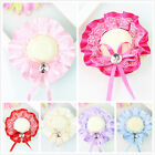 Womens Girls Mini Straw Hat Cap Fascinator Hair Clip Party Wedding Decoration