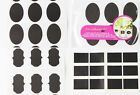 12* Black Blackboard Cup Bottle Removable Label Tag Sticker Sticky Decal  Mural