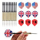 3pcs(1 Set)/9pcs(3 sets) Steel Needle Tip Dart Darts With Dart Flight Flights