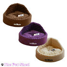 Cat Kitten Dog Puppy Pet Soft Comfy Washable Fur Snuggle Nesting Corner Bed