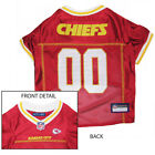 Kansas City Chiefs NFL Licensed Pet Dog Football Jersey