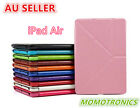 Ultra Slim Tri-fold Leather Protection Flexible Cover Case for New iPad Air/5