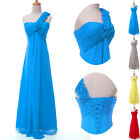 Single Shoulder Ladies Celeb Party Evening Cocktail Dress Ball Gowns Formal Prom