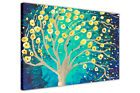 ABSTRACT TREE OF LIFE AT NIGHT CANVAS PICTURES WALL ART PRINTS PHOTO PRINTING