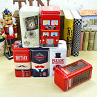 5.5'' H Great Britain Tea caddy food Storage Tins canister Boxes NEW STYLE
