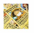 """NEW 16.5""""x11.4"""" One Piece Straw Hat Pirates+Shanks & Ace Wanted Anime Posters"""