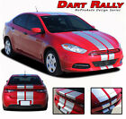 2013-2016 Dodge Dart Rally Racing Stripes Hood Vinyl Graphics Decals Striping $159.99 USD on eBay