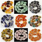 J59656 20x13mm Carved kinds of stone leaf loose beads 20pcs