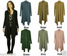 COLLECTION LONDON Womens Ladies Long Sleeve Knit Cardigans 7 Colour  SIze 8 - 16