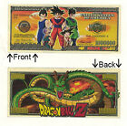 Dragon Ball Z Japan Anime $1,000,000 Dollar Novelty Notes 1 5 25 50 100 500 1000