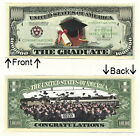 Graduation Day One Million Dollars Bill Novelty Notes 1 5 25 50 100 500 or 1000