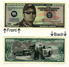 Dale Earnhardt Jr One Million Dollars Bill Novelty Notes 1 5 25 50 100 500 1000