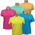Womens Polo Ralph Lauren, Mash Skinny Polo Cotton Shirts.Short Sleeve RRP £75.00