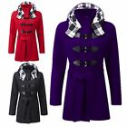NEW KIDS GIRLS FLEECE DUFFEL COAT HOODED LONG BELTED JACKET SIZE 7-13 YEARS