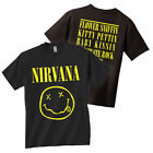 NIRVANA T-Shirt Smiley Face Logo OFFICIALLY LICENSED New Authentic image