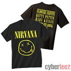 NIRVANA T-Shirt Smiley Face Logo OFFICIALLY LICENSED New Authentic