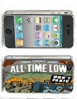 All Time Low Iphone Case (Fits Iphone 4/4s, 5c, 5/5s) Don't Panic