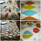 """Orange Table Runner Blue Green Brown Red Funky Retro Coffee Table 54"""" x 15"""""""