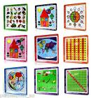 NEW KIDS EDUCATIONAL FOOD TRAY Dish Plate Shapes Alphabet Numbers Dinner Winner