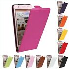 Genuine leather Card Flip Case Cover Protector Open up Skin For Huawei Ascend P6