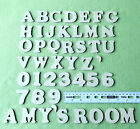 4cm MDF Craft Letters 4cm Wooden Alphabet Letters - Set of wood letters shapes