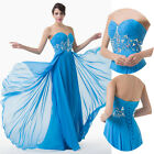 Elegant Long Evening Graduation Party Gowns Banquet Bridesmaid Prom Ball Dresses