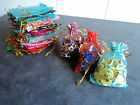 20 x Colourful Organza Gift Bags Party Wedding Favours Candy Pouch Jewellery Bag