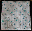 """NEW Aden and Anais 100% Muslin Cotton SWADDLE Baby Blanket - 47"""" x 47"""" Size cute"""