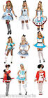 ALICE IN WONDERLAND FANCY DRESS COSTUME HALLOWEEN PARTY CHARACTER ROLE PLAY