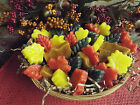 GORGEOUS FALL WAX LEAF TARTS - APPROX 30+ - HIGHLY SCENTED- YOU PICK FRAGRANCE