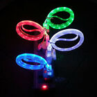 Visible LED Light Micro USB Charger Data Sync Cable for HTC Samsung Galaxy S4 S3