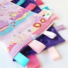NOAH'S ARK PINK ~ Hand Made Baby Security Blanket Toy +Dummy/Taggie/Sophie Saver