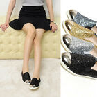 2scd0856 glitter pirl slip-on sneakers Made in korea