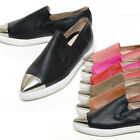 2scd0860 genuin leather slip-on sharp metal toe Made in korea