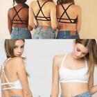 Hot Wemen Cutout Bustier  Backless Banded Inner Bralette Straps Cropped Vests