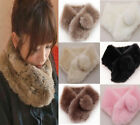 Faux fur Neck Wrap Material sweet and lovely plush fake collar FO-12