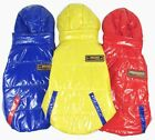 PU Waterproof Winter Coat Hoodie Jacket Fleece Lined small Boy Girl dog Clothes