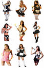 SEXY FRENCH MAID WENCH LINGERIE HALLOWEEN FANCY DRESS COSTUME PARTY OUTFIT