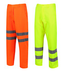 UCI VIZWELL Hi Vis Viz Mens Polycotton Trousers Pants Various Colours & Sizes