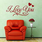 I Love You Romantic Wall Quote Decal Stylish Vinyl Love Quote Transfer DAQ40