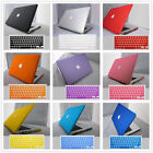 "Rubberized Matte Case Shell+ Keyboard Cover For Macbook Pro 13/15""Air 11/13""inch"